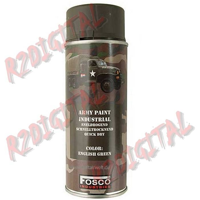 VERNICE ARMI FOSCO SPRAY ENGLISH GREEN 400ML PISTOLA